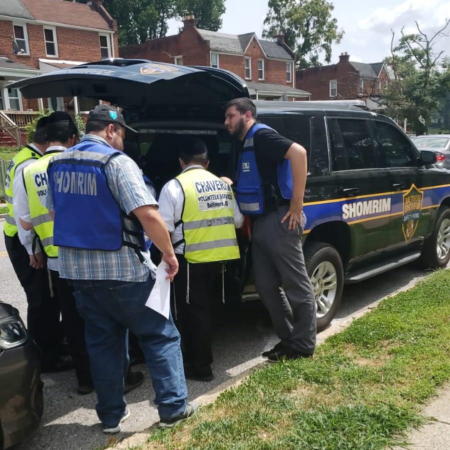 Shomrim Patrol Car